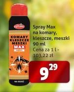 Spray na komary i kleszcze