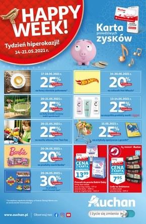 Skarbonka Auchan - Happy Week