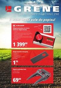Gazetka promocyjna Grene - Pole do popisu w Grene - ważna do 15-06-2021