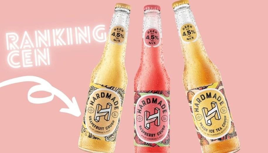 Piwo Hardmade - różne smaki.