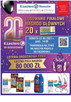 Gazetka promocyjna E.Leclerc - Wielkie wygrane w E. Leclerc Rzeszów