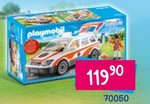 Samochodzik zabawka Playmobil