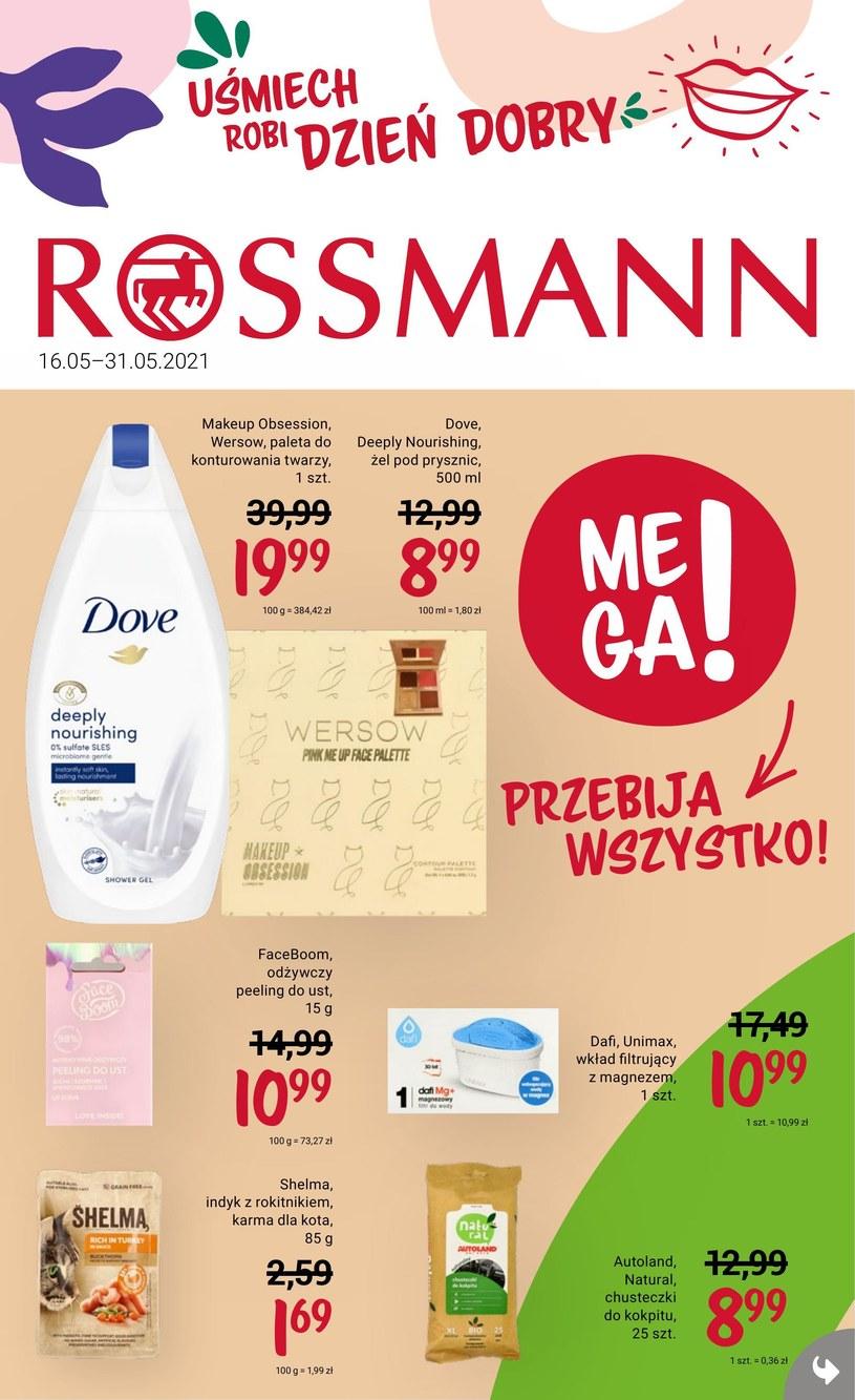 Gazetka promocyjna Rossmann - ważna od 16. 05. 2021 do 31. 05. 2021