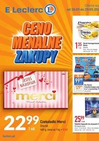 Gazetka promocyjna E.Leclerc - Niskie Ceny 2 - oferta dotyczy wybranych sklepów  - ważna do 29-05-2021