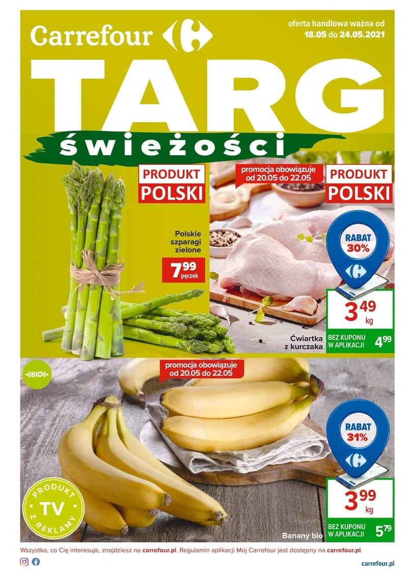 Gazetka promocyjna Carrefour - ważna od 18. 05. 2021 do 24. 05. 2021