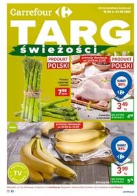 Gazetka promocyjna Carrefour - Targ świeżości w Carrefour   - ważna do 24-05-2021