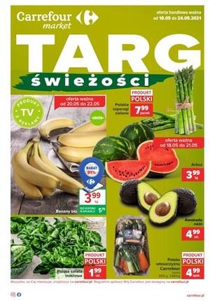 Gazetka promocyjna Carrefour Market - Targ świeżości w Carrefour Market
