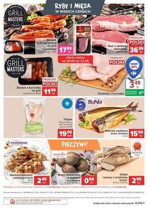 Targ świeżości w Carrefour Market