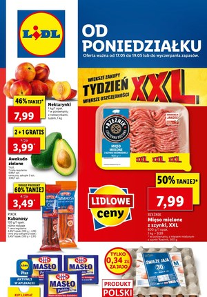 Gazetka promocyjna Lidl - Od poniedziałku w Lidlu