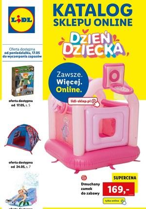 Gazetka promocyjna Lidl - Katalog Lidl online na Dzień Dziecka