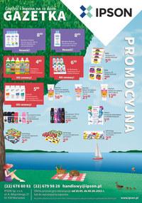 Gazetka promocyjna Ipson - Oferta promocyjna na maj w Ipson - ważna do 06-06-2021