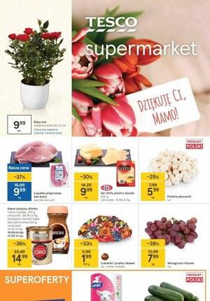 Gazetka promocyjna Tesco Supermarket - Oferta Tesco na Dzień Matki