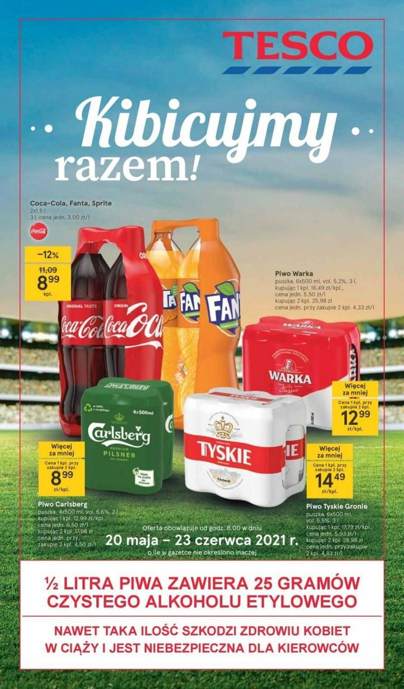 Tesco Supermarket: 3 gazetki