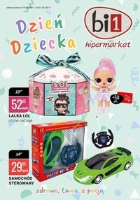 Gazetka promocyjna bi1 - Zabawki na Dzień Dziecka w bi1 - ważna do 01-06-2021
