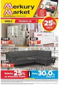Gazetka promocyjna Merkury Market - Promocje na meble w Merkury Market