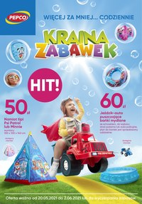Gazetka promocyjna Pepco - Kraina zabawek w Pepco   - ważna do 02-06-2021