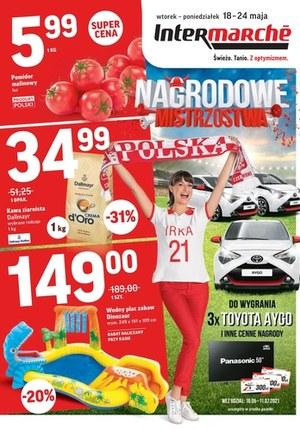 Gazetka promocyjna Intermarche Super - Nagrodowe Mistrzostwa w Intermarche