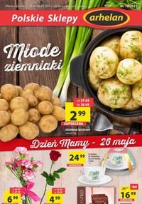 Gazetka promocyjna Arhelan - Młode ziemniaki w Arhelan   - ważna do 30-05-2021