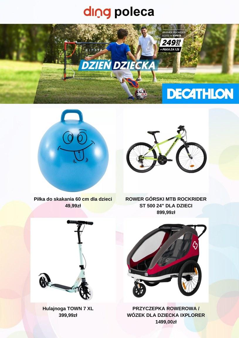Gazetka promocyjna Decathlon - wygasła 7 dni temu