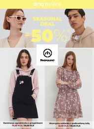 House - zniżki do 50%