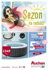 Gazetka promocyjna Auchan Hipermarket - Sezon na radość w Auchan