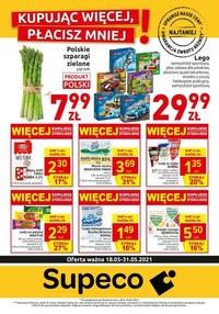 Gazetka promocyjna Supeco - Supeco - kupując więcej, płacisz mniej! - ważna do 31-05-2021