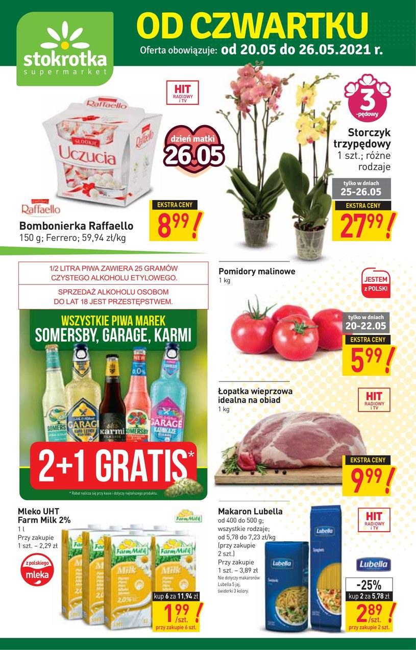 Stokrotka Supermarket: 2 gazetki