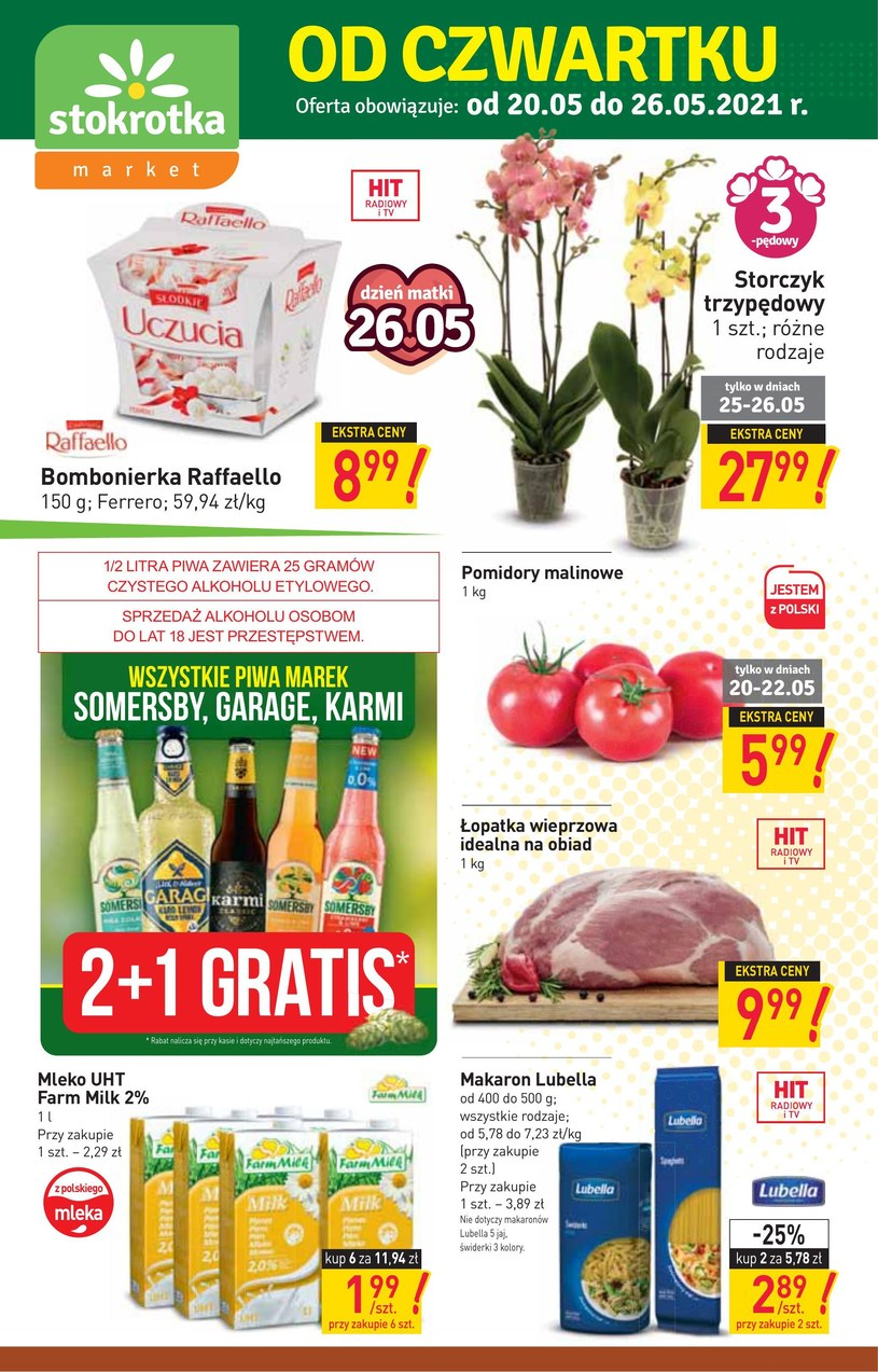Stokrotka Market: 2 gazetki