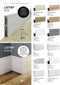 Gazetka promocyjna Komfort - Katalog podłóg i drzwi Komfort 2021