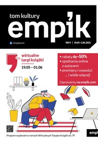 Gazetka promocyjna EMPiK - Empik - wirtualne targi książki - ważna do 01-06-2021