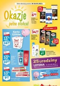 Gazetka promocyjna Moje Auchan - Okazje pełne słońca Moje Auchan - ważna do 26-05-2021