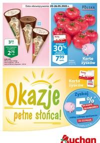 Gazetka promocyjna Auchan Supermarket - Słoneczne promocje w Auchan - ważna do 26-05-2021