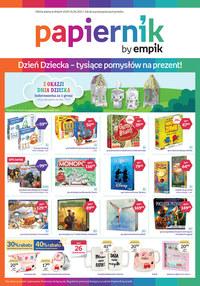 Gazetka promocyjna Papiernik by Empik - Papiernik - pomysły na Dzień Dziecka! - ważna do 01-06-2021