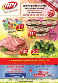 Gazetka promocyjna Api Market - Api Market - zawsze udane zakupy - ważna do 25-05-2021