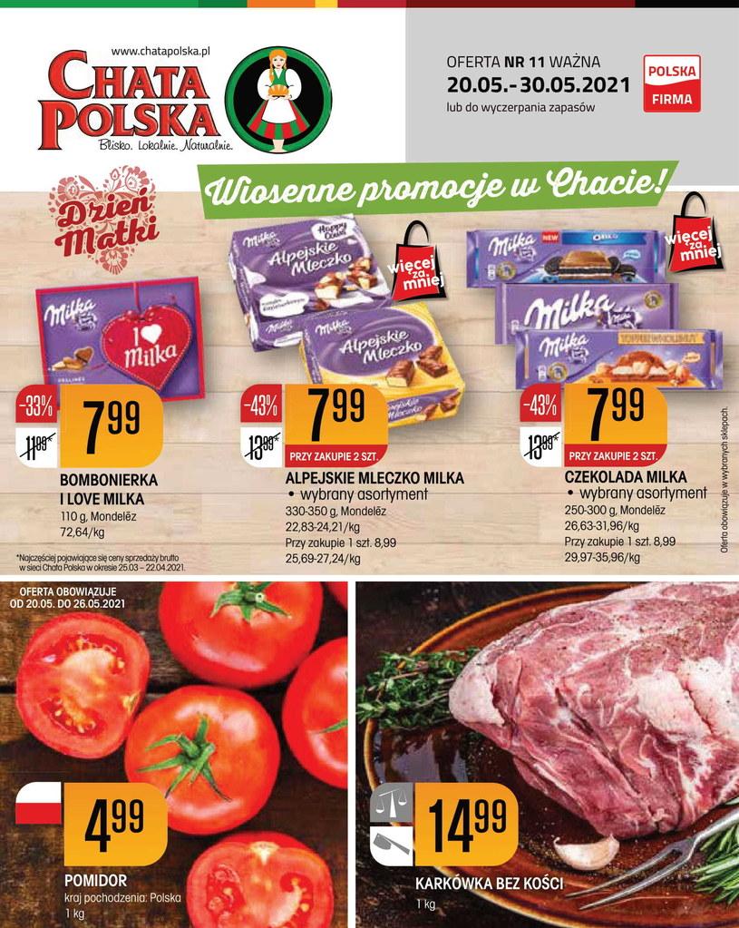 Gazetka promocyjna Chata Polska - wygasła 19 dni temu