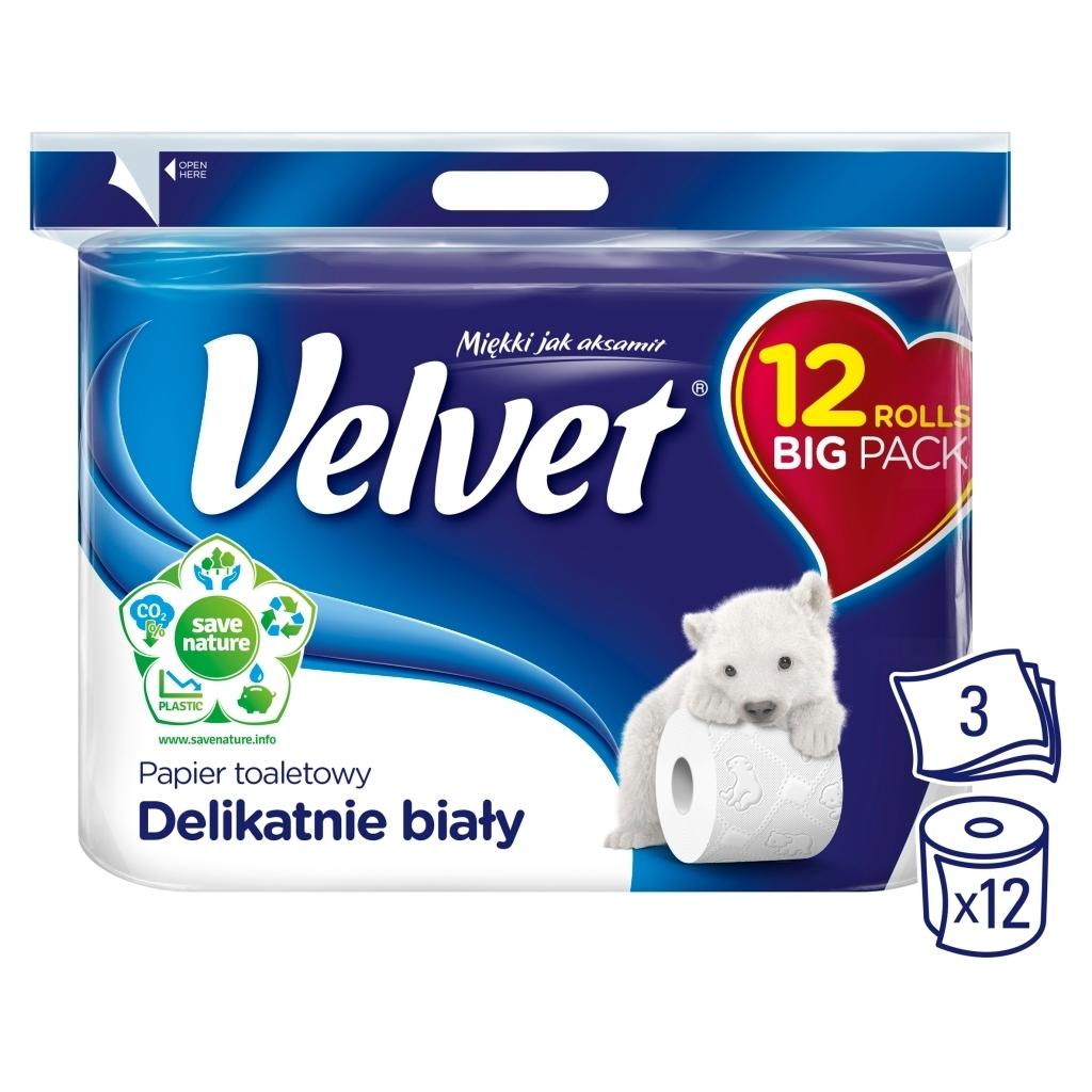 Papier toaletowy Velvet - 0