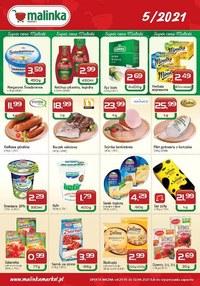 Gazetka promocyjna MALINKA Market - Artykuły spożywcze w Malinka Market! - ważna do 02-06-2021