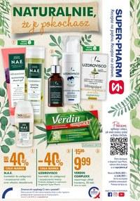 Gazetka promocyjna Super-Pharm - Super-Pharm - promocje na kosmetyki naturalne  - ważna do 06-06-2021