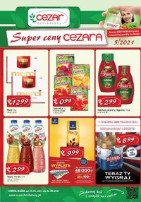 Gazetka promocyjna Delikatesy CEZAR - Super ceny Cezara - ważna do 02-06-2021