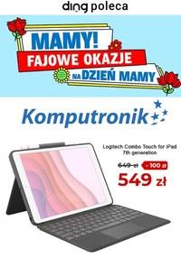 Gazetka promocyjna Komputronik - Komputronik - fajowe okazje na Dzień Mamy - ważna do 03-06-2021