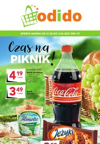Gazetka promocyjna Odido - Czas na piknik - Odido - ważna do 03-06-2021