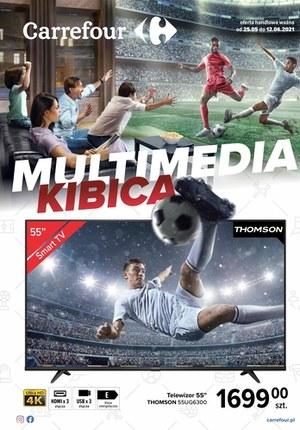 Gazetka promocyjna Carrefour - Carrefour - multimedia kibica