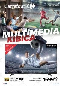 Gazetka promocyjna Carrefour - Carrefour - multimedia kibica - ważna do 12-06-2021