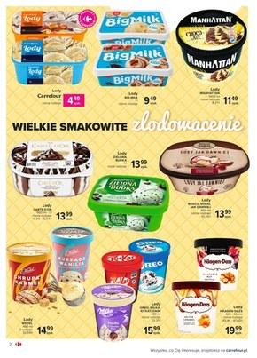 Carrefour Market - wielki wybór lodów