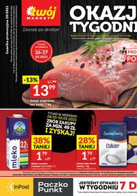Gazetka promocyjna Twój Market - Okazje tygodnia w Twój Market!    - ważna do 06-06-2021