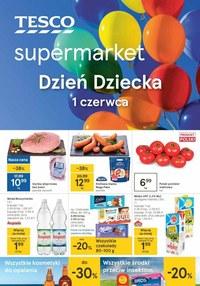 Gazetka promocyjna Tesco Supermarket - Dzień Dziecka w Tesco - ważna do 01-06-2021