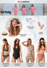 Gazetka promocyjna Sinsay - Stroje kąpielowe w Sinsay - ważna do 20-06-2021
