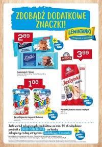 Gazetka promocyjna Lewiatan - Więcej dodatkowych znaczków w Lewiatanie - ważna do 02-06-2021