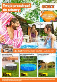 Gazetka promocyjna OBI - Twoja przestrzeń do zabawy w Obi - ważna do 08-06-2021