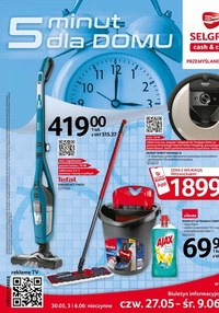 Gazetka promocyjna Selgros Cash&Carry - Selgros - katalog sprzątanie - ważna do 09-06-2021